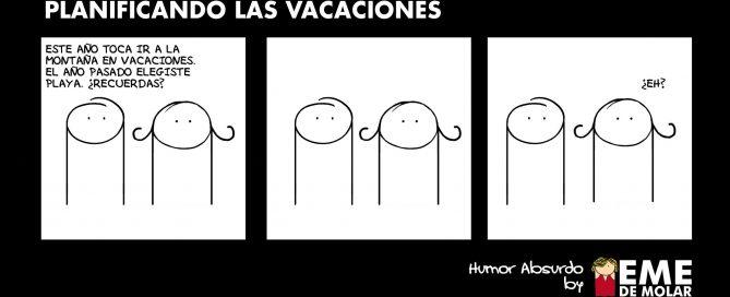 Planificando las vacaciones
